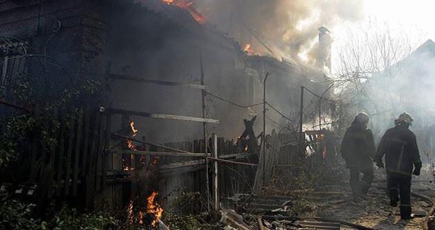 Donetsk'te büyük patlama