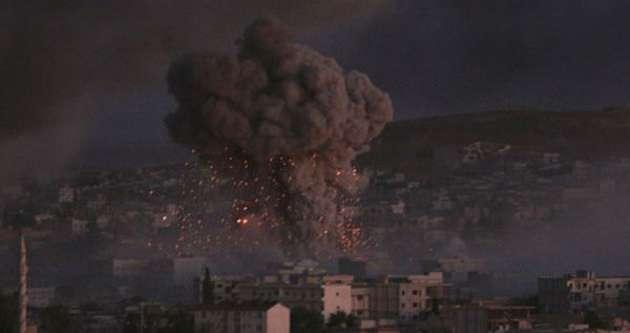 IŞİD'den Kobani'ye intihar saldırısı