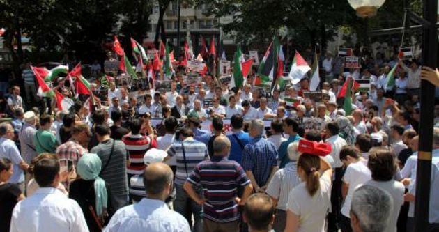 Filistinli hastalardan ameliyat protestosu