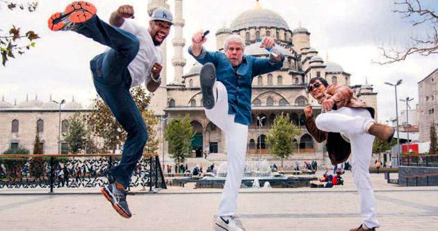 Hollywood yıldızları İstanbul'u fethetti