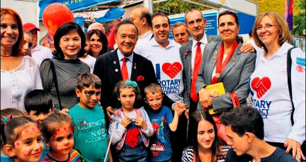 Rotary'nin Dünya Başkanı İzmir'de