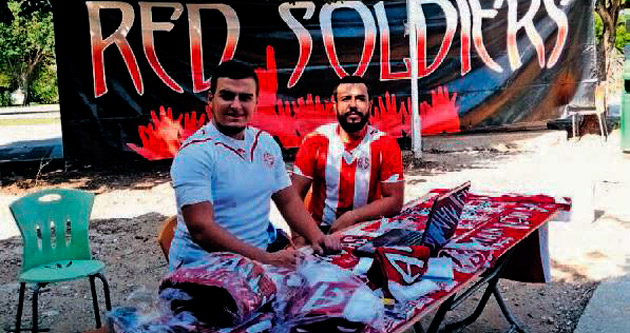 Red Soldiers üniversitede
