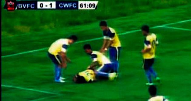 Hindistan'da inanılmaz olay: Gol sevinci ölüm getirdi
