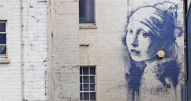 Banksy geri döndü