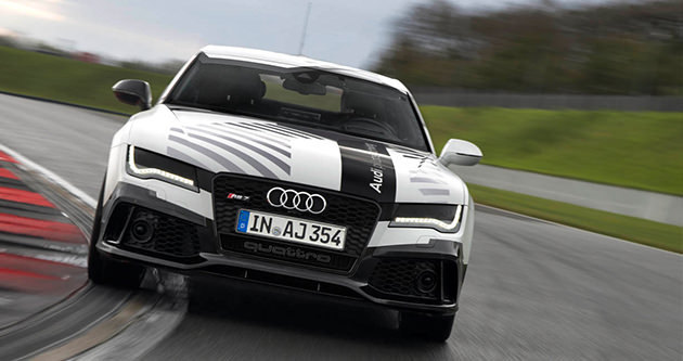 Audi RS7'nin pilot sürüş konsepti