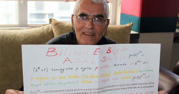 Türk dâhi en uzun asal sayıyı buldu