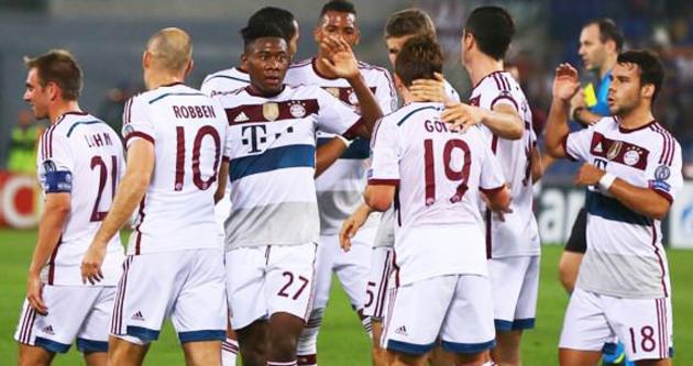 Bayern, Roma'yı yaktı!