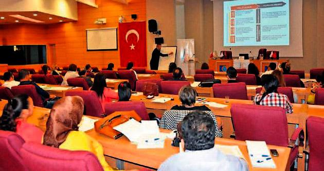 Belediyelere proje hazırlama eğitimi