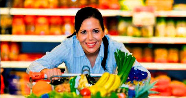 Alışverişlerde gıda tercihi önde