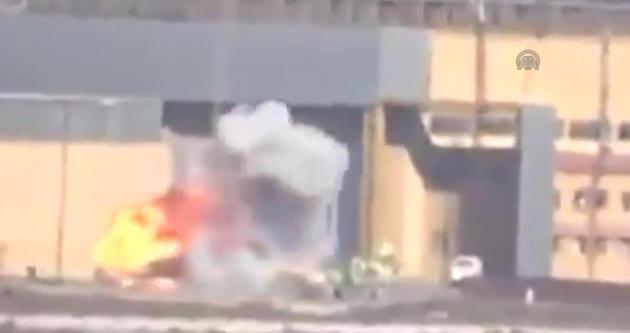 Özgür Suriye Ordusu savaş uçaklarını böyle vurdu