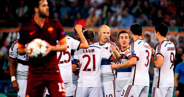 Bayern geldi gördü ezdi