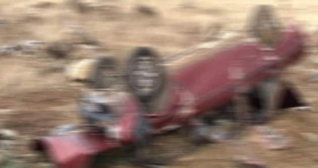 Av dönüşü feci kaza