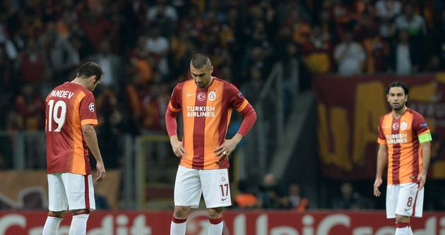Galatasaray'a gol yağmuru