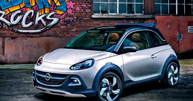 Opel'in sıradışı modeli Adam Rocks yola çıktı