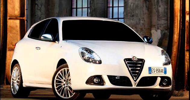 3 taksitle Alfa Romeo Giulietta