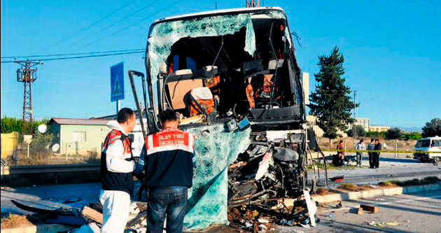 15 kişi öldü 28 kişi de yaralandı