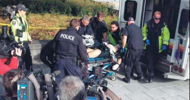 Parlamentoya silahlı saldırı: 2 ölü