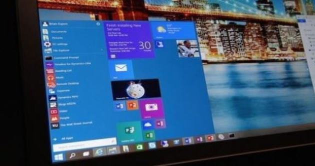 Windows 10'a güncelleme geldi