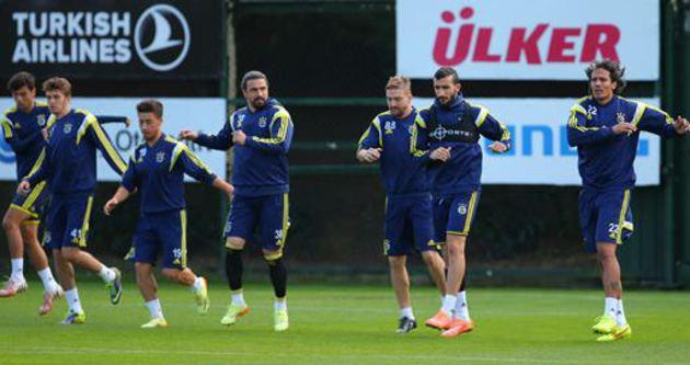 Mehmet Topal ve Caner takımla çalıştı