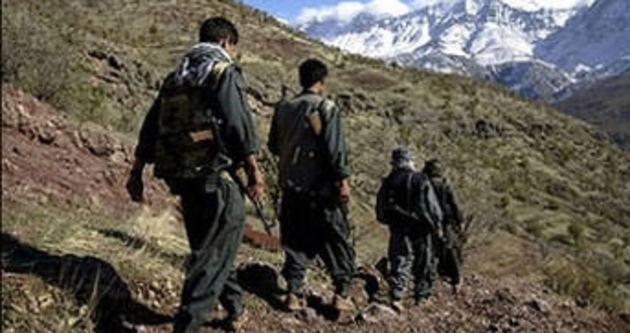 Sınırda 5 terörist yakalandı