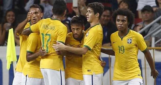 Brezilya'nın Türkiye maçı kadrosu belli oldu
