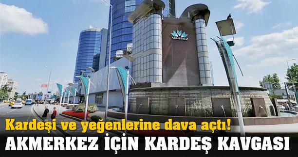 AKMERKEZ'DE KARDEŞ KAVGASI!