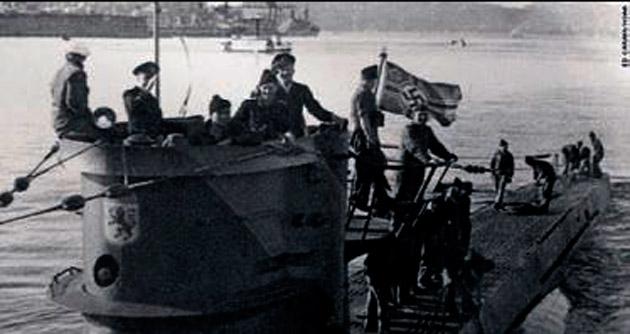 Batık Alman denizaltısı 72 yıl sonra bulundu
