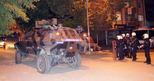 Kağızman'da 3 terörist öldürüldü
