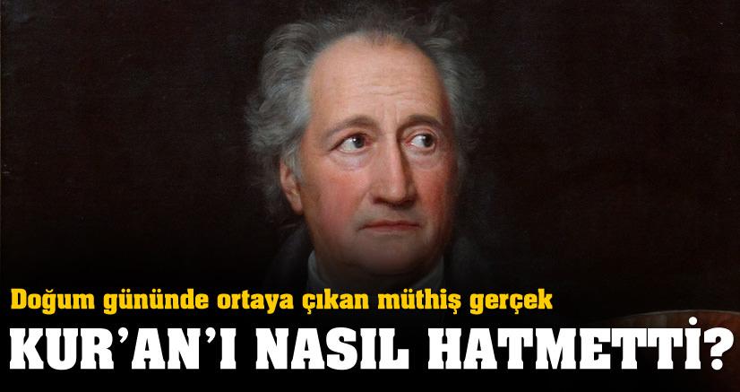 Goethe'nin müthiş hayatı