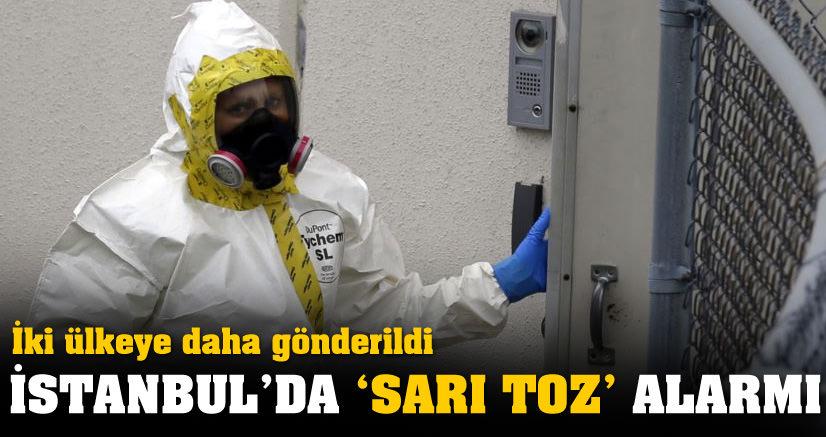 Konsoloslukta sarı toz paniği