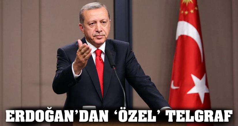 Erdoğan'dan Özel telgraf