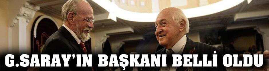 Galatasaray Başkanı'nı seçti