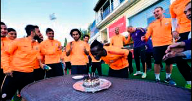 Bruma'ya çılgın kutlama
