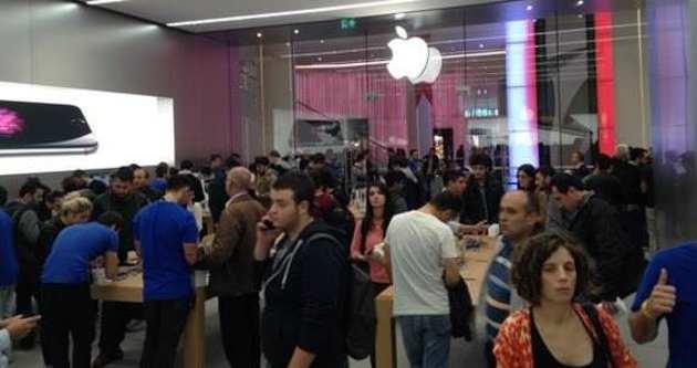Apple Store Akasya açıldı!