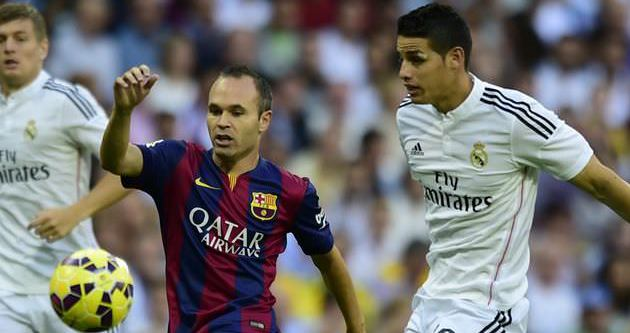 El Clasico Real Madrid'in