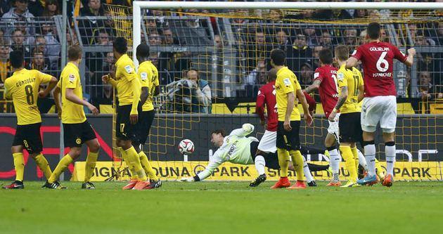 Dortmund'un düşüşü sürüyor