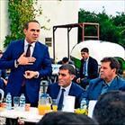 Başkan Hüseyin Sözlü muhtarları dinledi