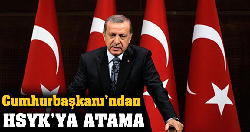 Cumhurbaşkanı HSYK üyelerini seçti