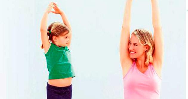 Çocuklar da yogayla rahatlıyor