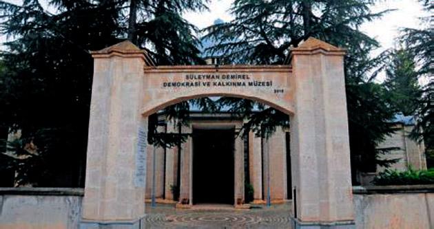 Demirel'in müzesi bügün açılıyor