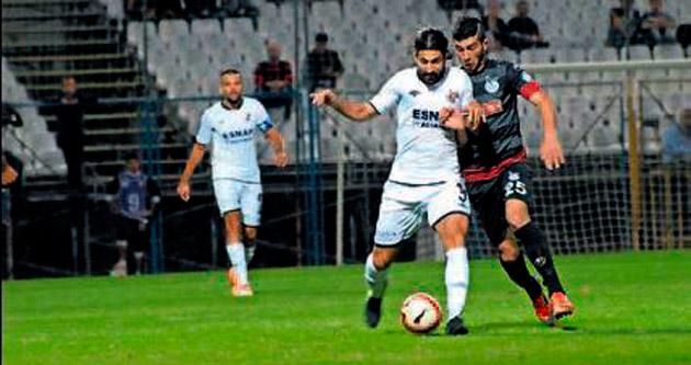 Fethiyespor'un sıçrama maçı