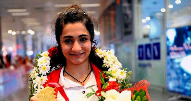 Judonun altın kızı dünya üçüncüsü