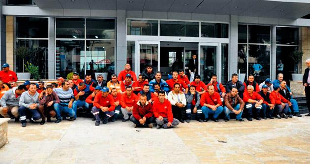 Gaziemir'de işçiler yine eyleme başladı