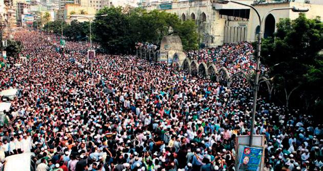 Eski lideri bir milyon kişi uğurladı