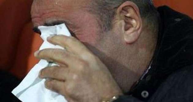 Abdurrahim Albayrak gözyaşlarını tutamadı
