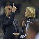 Guardiola, kadın hakeme tepki gösterince...