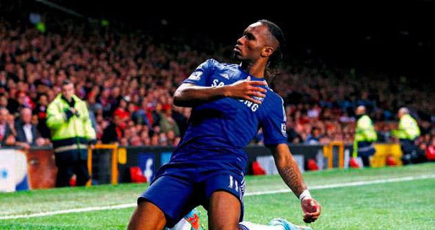 Chelsea Drogba ile kaçtı Van Persie izin vermedi
