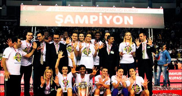 En büyük kupa Fenerbahçe'nin