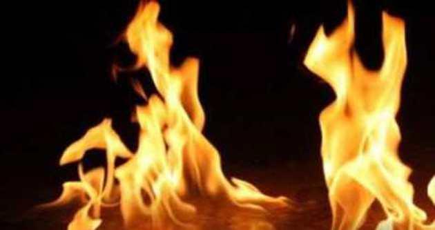Başkent'te trafo yangını