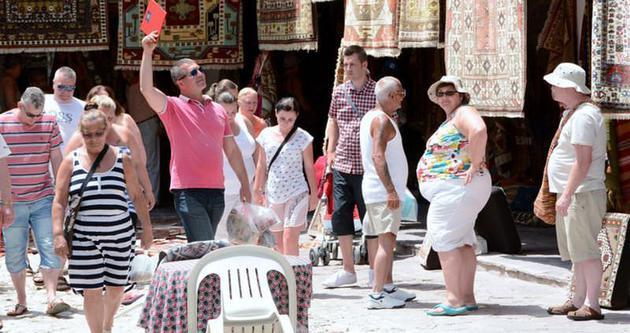 Muğla'ya gelen turistin yüzde 42'si ingiliz